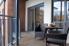 2 balcony Colindale serviced apartment 60