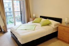 6 master bedroom balcony Colindale serviced apartment 60
