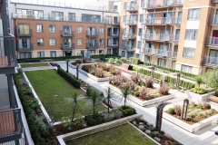 4 balcony into courtyard Colindale serviced apartment 60