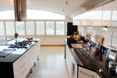 10 kitchen island Hampton Court 3 bed penthouse
