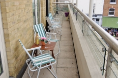 10 Hampton Court two bed balcony Village view