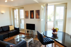 12 Hampton Court two bed living dining