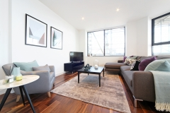 5 living area Harrow serviced apartments