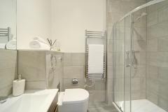7 bathroom shower cubicle Harrow serviced apartments
