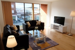 2 living area Ruislip serviced apartments HA4 8QH