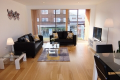 7 living area Ruislip serviced apartments HA4 8QH