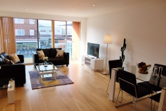 8 living area Ruislip serviced apartments HA4 8QH