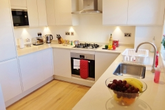 1 kitchen Twickenham serviced apartment Newland 5