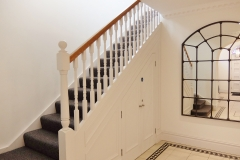 25 building entrance stairs Twickenham serviced apartment Newland 5