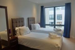 15 second bedroom twins 2 bed Twickenham Wharf 54