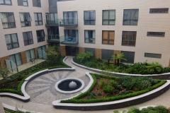 17 fountain courtyard window Twickenham Wharf