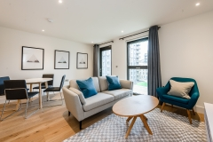 10 living and dining area 2 Wembley Serviced Apartments