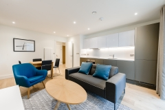 11 living area and kitchen Wembley Serviced Apartments