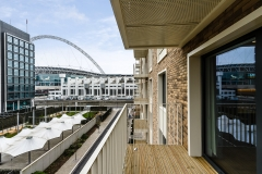 17 balcony and building view from balcony Wembley Serviced Apartments