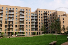 19 building from garden Wembley Serviced Apartments