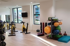 22 gym in-house gym balls Wembley Serviced Apartments