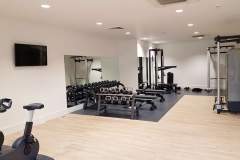 24 gym in-house weights Wembley Serviced Apartments