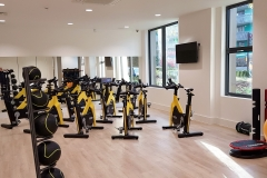 25 gym in-house bikes Wembley Serviced Apartments
