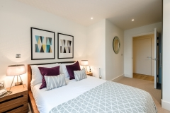 6 bedroom towards headboard Wembley Serviced Apartments