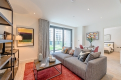 1 living area Wembley Park 3 bed