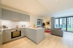 4 kitchen living Wembley Park 3 bed